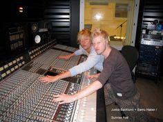 Jukka Backlund & Samu Haber Lund, Sunrise Avenue, Cool Bands, Fangirl, Singer, My Love, Fan Girl, Singers