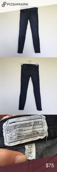 Current/Elliot dark grey cropped Jean Style: The Stiletto Worn once In GREAT condition  Bought @saksfifthavenue  ❗️PLS READ BEFORE PURCHASING❗️ ❌NO TRADES ❌NO PAYPAL ✔️OPEN TO REASONABLE OFFERS Any ?s email me OR comment below  email: taysposhmark@gmail.com ❗️cheaper on MERC❗️ Current/Elliott Jeans Ankle & Cropped