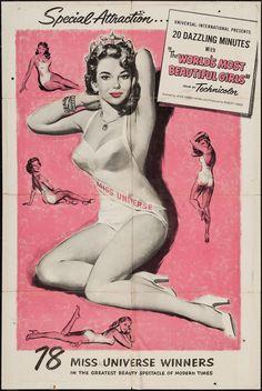 The World's Most Beautiful Girls (Universal International, 1950)