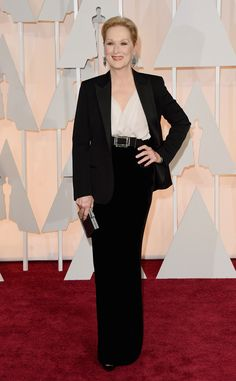 Meryl Streep from 2015 Oscars: Red Carpet Arrivals | E! Online