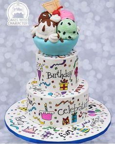 """Amazing World Talents's Instagram profile post: """"⬅️ Follow  Cake ❤ from @momschap . . . #Weddingday #Weddingphoto #Weddingideas #Foodie #Cake #Weddingcake #Yummy #Ilovefood #Dessert…"""" Doodle Cake, Wedding Photos, Wedding Day, American Cake, Happy Birthday, Birthday Cake, Character Cakes, New Cake, Celebration Cakes"""