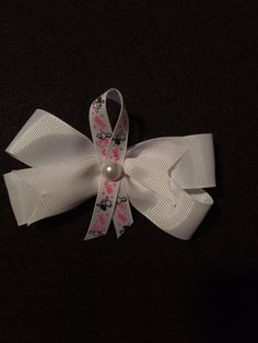 Love Hair Bow by HelgasHairBowDesigns on Etsy