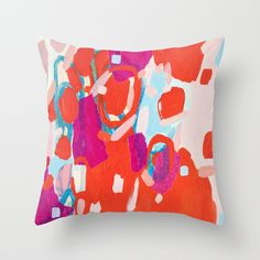 Color+Study+No.+7+Throw+Pillow+by+Emily+Rickard+-+$20.00