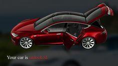 GlassTesla App - Control Tesla Car With Glasses