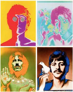 Richard Avedon - From 'The Beatles Portfolio' (London, England, 8-XI-1967).