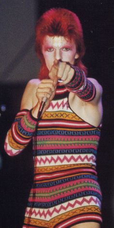 Ziggy Stardust - my favourite david outfit ever.......