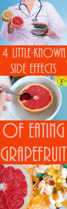 If you eat grapefruit or drink it on a regular basis, this is something you should know. The positive thing is that it is safe for most people.