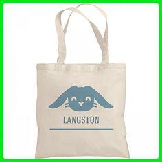 Boys Easter Bunny Bag Langston: Liberty Bargain Tote Bag - Totes (*Amazon Partner-Link)