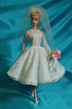 """OOAK Silkstone Vintage Style Barbie Repaint """"Wedding Bells"""" by Juliaoriginals"""
