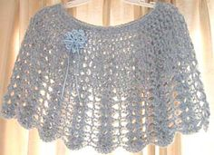 Ravelry: Shortie Shell Capelet pattern by Kathy North