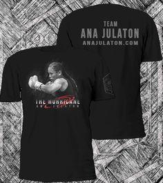 "Pre-order Ana ""The Hurricane"" Julaton Original Walk out Tees, $32 (XS-3XL) shipped within USA, www.occink.com"