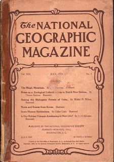 National Geographic – February 1907 - Persia, Ecuador, India, Polar Photography in Books, Magazine Back Issues National Geographic, Ecuador, Polaroid, San Francisco Earthquake, India, Continents, Breakup, Magazine, Photography