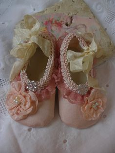 Baby wedding shoes - so cute