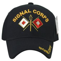 Signal Corps Embroidered Soft Low Profile Hat