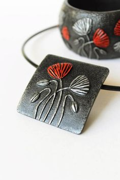 Inspired by nature and the beauty of plants and animals, my collection of polymer clay jewelry is stylish and wearable. The modern, original designs are meant to complement all styles and will pair beautifully with both casual and formal ensembles. I design and make the jewelry myself,