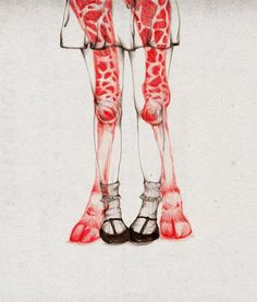 illustration work of Hong Kong based artist Peony Yip, aka The White Deer.