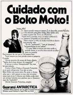 Campanha do Guaraná Antártica nos anos 70 que explorou bastante a gíria 'Boko Moko'