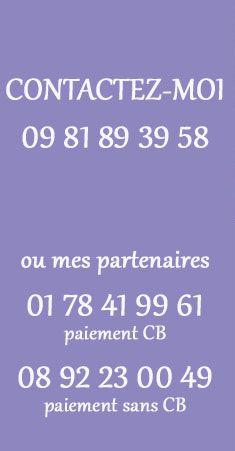 Consultation sans CB au 08 92 23 00 49.  N'hésitez pas à venir visiter mon site www.claramedium.com