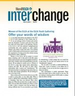Interchange, May 2012 issue. How to start a Facebook Page. Katie's Fun and more. Magazine of the women's organization of the ELCA, Evangelical Lutheran Church in America.