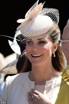 The Duchess of Cambridge, June 4, 2013 | The Royal Hats Blog