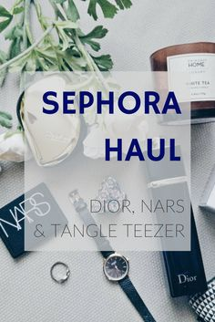 I took advantage from a weekend in France to stock up on my beauty favourites at Sephora: discover what I bought in this little haul!