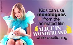 Monologues for Kids Funny Monologues, Monologues For Kids, Film Alice In Wonderland, Activity Days, Kids Shorts, Animation Film, Little Miss, Art For Kids, Activities For Kids