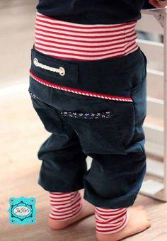 ebook PEPINI Pattern Kids Pants for Girls and Boys .- ebook PEPINI pattern children& trousers for girls and boys – Elstergl - Knitting Patterns Boys, Sewing Patterns For Kids, Knitting For Kids, Sewing For Kids, Baby Sewing, Clothing Patterns, Crochet Patterns, Trousers For Girls, Kids Pants