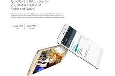 Bluboo Maya es un nuevo smartphone a poco más de 61 euros. Especial para fotografía (cámaras de 13 y 8 Mpx), con Android 6.0, RAM de 2GB y ROM de 16 GB.