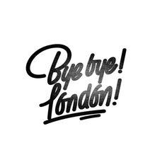 Bye bye! london!  #byebye #london #eastlondon #caligrafia #calligraphy #lettering #handlettering #handmade #designspiration #fontporn #fonttype #goodtype #typeporn #typographyinspired #design #typetopia #typespire #typography_and_calligraphy #calligritype #tyxca