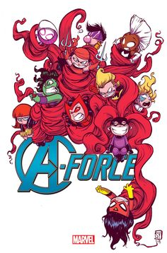 Skottie Young: A-Force #1 variant cover