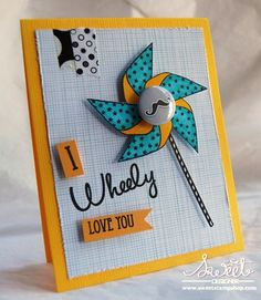All stamps by Sweet Stamp Shop and inks by IMAGINE Crafts/Tsukineko. Created by Tenia Nelson