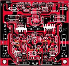 PCB Power Amplifier Apex