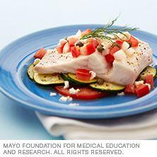 Mediterranean fish fillets - Mayo Clinic