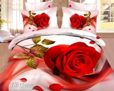 Lovely Best Quality 4 Piece Cotton Bedding Sets