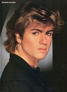 George Michael photo in 1985 while in Wham! George Michael Poster, George Michael Music, Michael Love, Beautiful Men, Beautiful People, George Michel, Andrew Ridgeley, My Idol, Music Icon