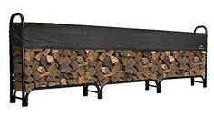 ShelterLogic Backyard Storage Series Covered Firewood Rac...