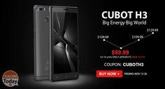 Codice Sconto - CUBOT H3 3/32Gb (banda 20) a 50€ Spedizione e Dogana Incluse #Xiaomi #Coupon #CubotH3 #Offerta https://www.xiaomitoday.it/?p=29834