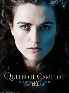 Morgana from the BBC Merlin fandom. Graphic by me.