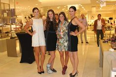 Jimmy Choo event at Saks Fifth Avenue. Models styled by yours truly