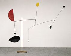"Alexander Calder |	  Steel Fish, 1934  Sheet metal, wire, lead, and paint  115"" x 137"" x 120""  Calder Foundation, New York"