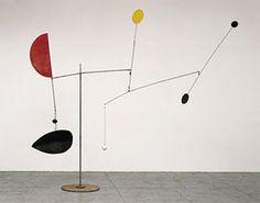 "Alexander Calder |  Steel Fish, 1934  Sheet metal, wire, lead, and paint  115"" x 137"" x 120""  Calder Foundation, New York"