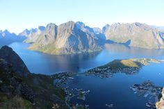 Reinebringen, Lofoten Islands, Norway, Norvège, Summer 2014