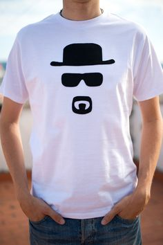 Breaking Bad  Walter White/ Heisenberg  Man by Pamukkaleworld, $21.00