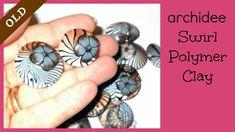 Tutorial   Polymer Clay   DIY Swirl Beads   Etno Swirl   LOOK EDITED VIDEO   LINK IN THE INFO BOX
