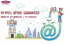Uptime Guaranteed at Web Werks Data Centers Virtual Private Server, Ecommerce Hosting, Cloud, Green, Cloud Drawing
