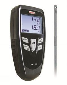 Varmtrådsaneometer VT100 Kimo