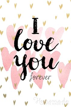 I love you forever. Love You Cute, I Love You Pictures, Cute Love Images, Beautiful Love, Forever Love Quotes, I Love You Forever, I Love You Quotes, Love Yourself Quotes, Images For Valentines Day