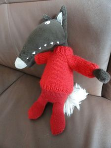 Loup... mardi tuto pull simplifié Le Lou, Dinosaur Stuffed Animal, Projects To Try, Pull, Toys, Mardi, Camille, Animals, Olaf