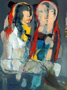 "Saatchi Art Artist Qais Al-Sindy; Painting, ""Faith in Love."" #art"