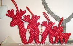 Renne natalizie  ADDOBBI ALBERO DI NATALE ninitell.p@gmail.com